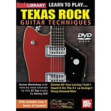 Mel Bay Lick Library: Learn to Play Texas Rock Techniques (DVD)