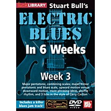 Mel Bay Lick Library Stuart Bull's Electric Blues in 6 Weeks DVD Guitar Course