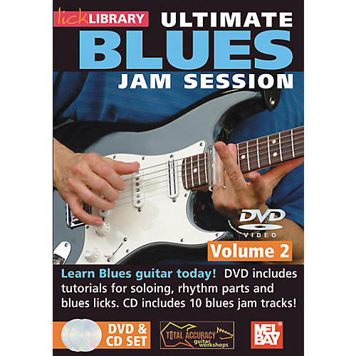 Mel Bay Lick Library Ultimate Blues Jam Session Volume 2 DVD and CD Set