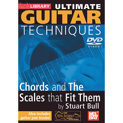 Mel Bay Lick Library Ultimate Guitar Techniques: Chords and The Scales 2 DVD Set