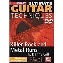 Mel Bay Lick Library Ultimate Guitar Techniques: Killer Rock and Metal Runs DVD