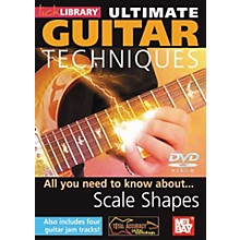 Mel Bay Lick Library Ultimate Guitar Techniques: Scale Shapes DVD