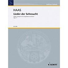 Schott Lieder Der Sehnsucht Op. 77 High Schott Series