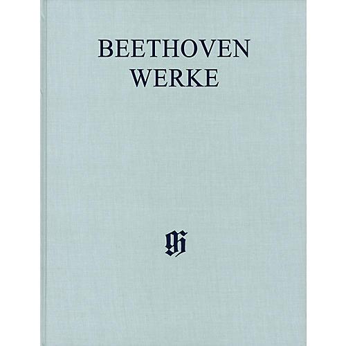 G. Henle Verlag Lieder verschiedener Völker Henle Edition Hardcover by Beethoven Edited by Susanne Cox