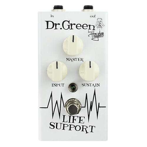 Dr. Green Life Support Sustain Guitar Effects Pedal