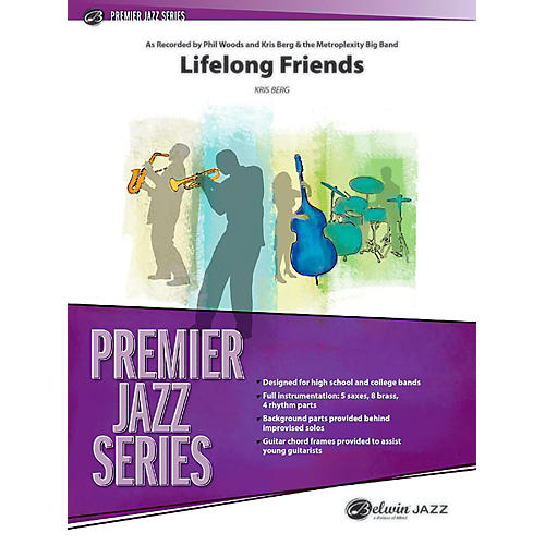 BELWIN Lifelong Friends Jazz Ensemble Grade 4 (Medium Advanced / Difficult)