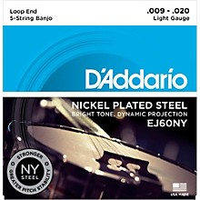 D'Addario Light Banjo Strings (9-20)