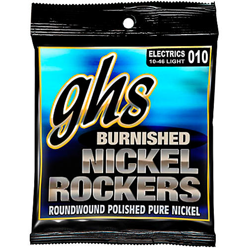 GHS Light Burnished Nickel Guitar Strings