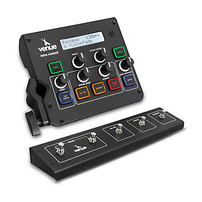 Venue Light Conductor Intuitive DMX Controller and Footswitch