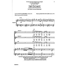 Transcontinental Music Light the Legend SSA composed by Michael Isaacson