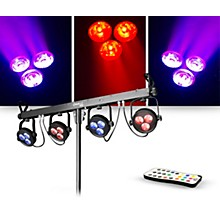 CHAUVET DJ Lighting Package with 4BAR LT USB RGB LED Light Bar and IRC-6 Controller