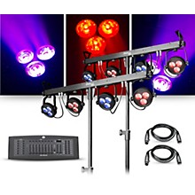 CHAUVET DJ Lighting Package with Two 4BAR LT USB RGB LED Fixtures and DMX Operator Controller