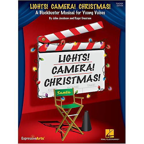 Hal Leonard Lights! Camera! Christmas! Performance Kit/CD