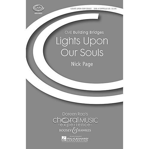 Boosey and Hawkes Lights upon Our Souls (CME Building Bridges) SAB A Cappella composed by Nick Page