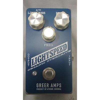 Greer Amplification Lightspeed Effect Pedal