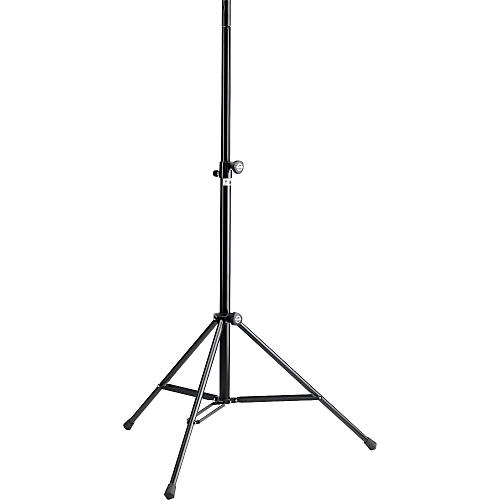 K&M Lightweight Aluminum Speaker Stand with Double-Braced Base