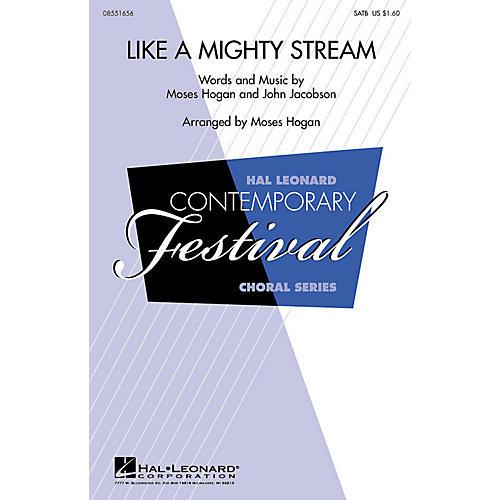 Hal Leonard Like a Mighty Stream 2-Part Arranged by Moses Hogan