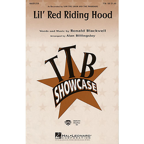 Hal Leonard Lil' Red Riding Hood ShowTrax CD by Sam the Sham and the Pharoahs Arranged by Alan Billingsley