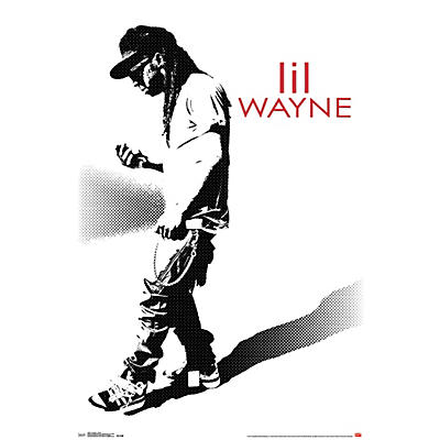 Trends International Lil Wayne - Hustle Poster