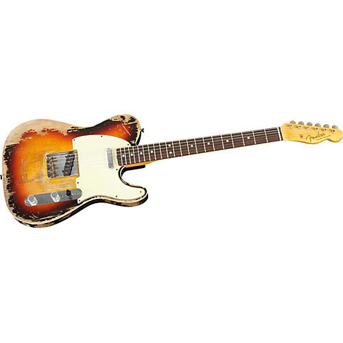 Fender Custom Shop Limited 1963 Heavy Relic Telecaster Custom Electric Guitar