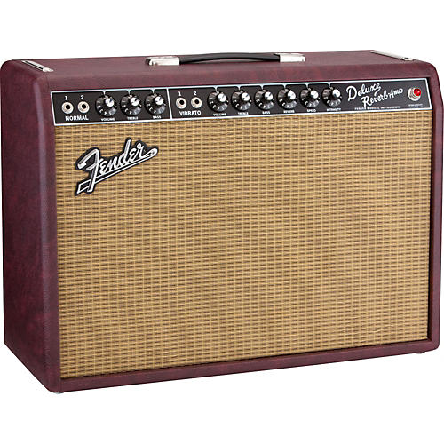 Fender Limited Edition '65 Deluxe Reverb 22W 1x12 Tube Guitar Combo Amp