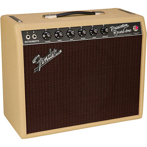 Fender Limited-Edition 65 Princeton Reverb 15W 1x12 Tube Combo Amp Blonde