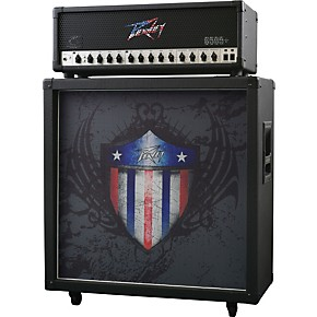 peavey limited edition 6505 patriotic half stack musician 39 s friend. Black Bedroom Furniture Sets. Home Design Ideas