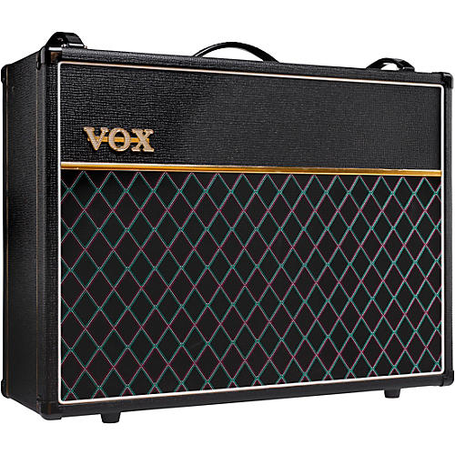 Vox Limited-Edition AC30 30W 2x12 Tube Guitar Combo Amp with Creamback Speakers and JJ Tubes Black