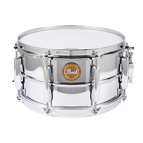 Pearl Limited Edition Beaded Steel Shell Snare Drum