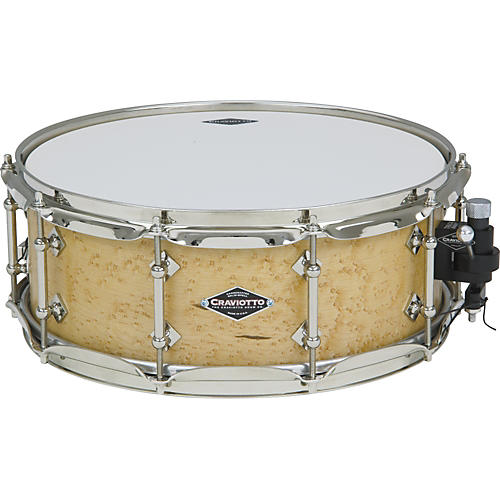 Craviotto Limited Edition Birds-Eye Maple Snare Drum
