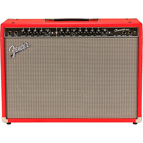 fender limited edition champion 100 100w 2x12 guitar combo amp musician 39 s friend. Black Bedroom Furniture Sets. Home Design Ideas