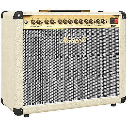 marshall limited edition dsl40cr 40w 1x12 tube guitar combo amp cream musician 39 s friend. Black Bedroom Furniture Sets. Home Design Ideas