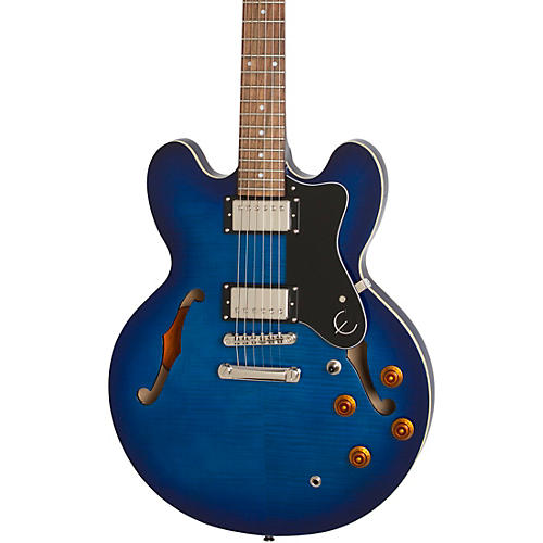 Epiphone Limited-Edition Dot Deluxe Semi-Hollow Electric Guitar Blue Burst