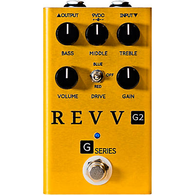 Revv Amplification Limited-Edition G2 Overdrive Effects Pedal