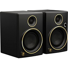 """Open BoxMackie Limited Edition Gold CR4 4"""" Creative Reference Multimedia Monitors - Pair"""