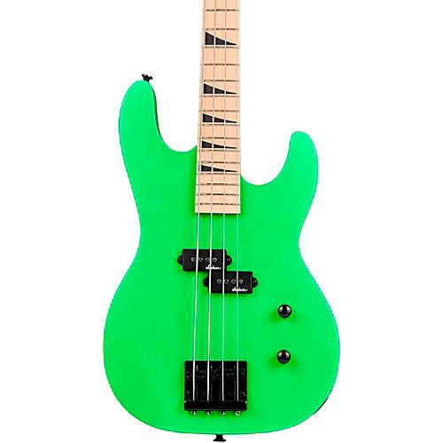 Jackson Limited-Edition JS Series Concert Bass JS1M Neon Green