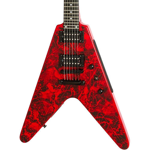 Epiphone Limited Edition Jeff Waters Annihilation-II Flying-V Outfit