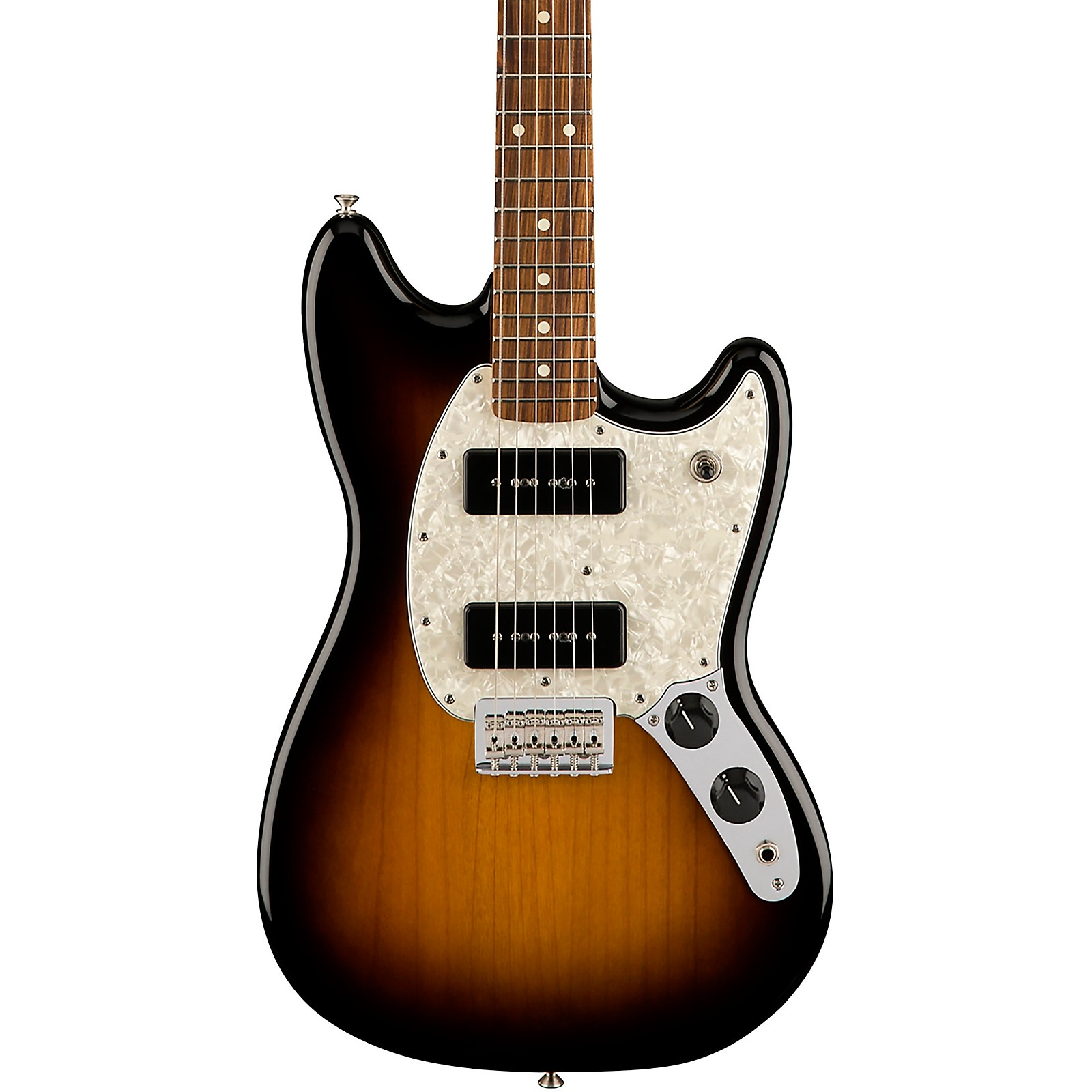 Fender Limited Edition Mustang 90 Electric Guitar with Pau Ferro Fingerboard 2-Color Burst