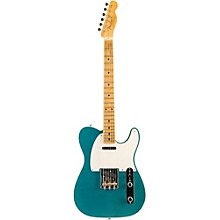 Limited Edition NAMM 2016 Custom Built '50s Journeyman Relic Maple Fingerboard Telecaster Faded Teal Green Metallic