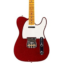 Limited Edition NAMM 2016 Custom Built Postmodern Journeyman Relic Maple Fingerboard Telecaster Red Sparkle