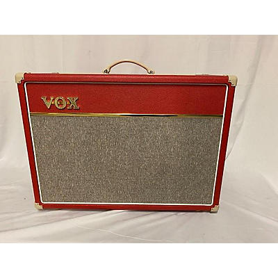 Vox Limited Edition Red AC15 Tube Guitar Combo Amp