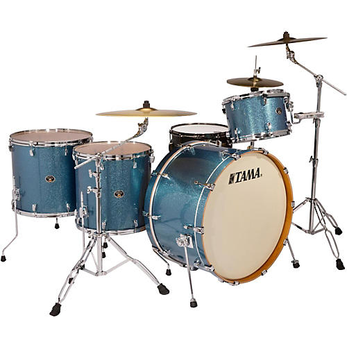 TAMA Limited Edition Silverstar 4-Piece Shell Pack with 26