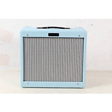 Open BoxFender Limited-Edition Sonic Blues Junior IV 15W 1x12 Tube Guitar Combo Amplifier