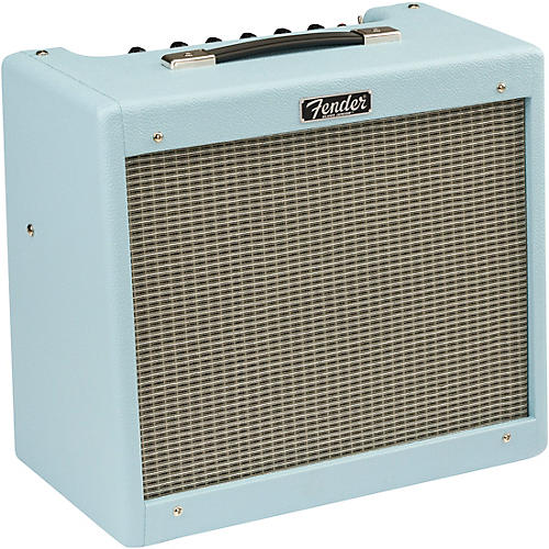 Fender Limited-Edition Sonic Blues Junior IV 15W 1x12 Tube Guitar Combo Amplifier Sonic Blue