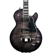Limited Edition Super Swede Electric Guitar Transparent Black Black Pickguard