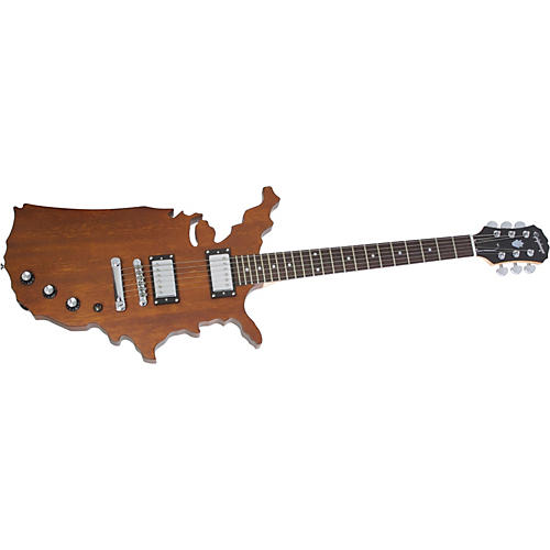 epiphone limited edition usa map electric guitar musician 39 s friend. Black Bedroom Furniture Sets. Home Design Ideas