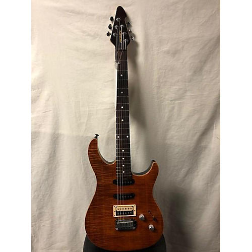 Peavey Limited ST Solid Body Electric Guitar flame top