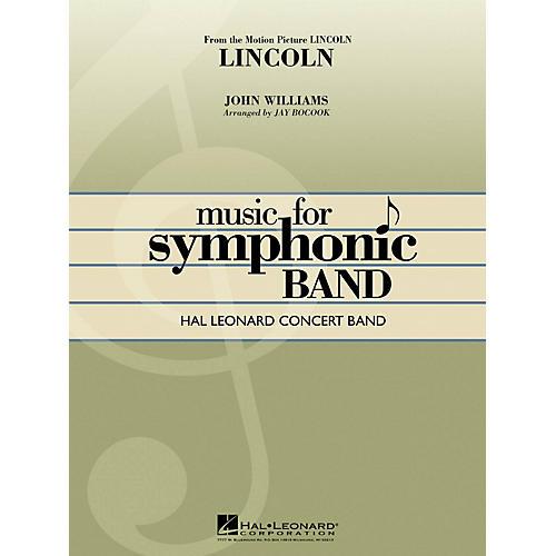 Hal Leonard Lincoln Concert Band Level 4 Arranged by Jay Bocook