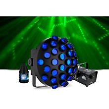 CHAUVET DJ Line Dancer with Hurricane 700 Fog Machine and Juice