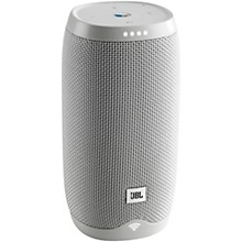 Link 10 Voice Activated Bluetooth Speaker White